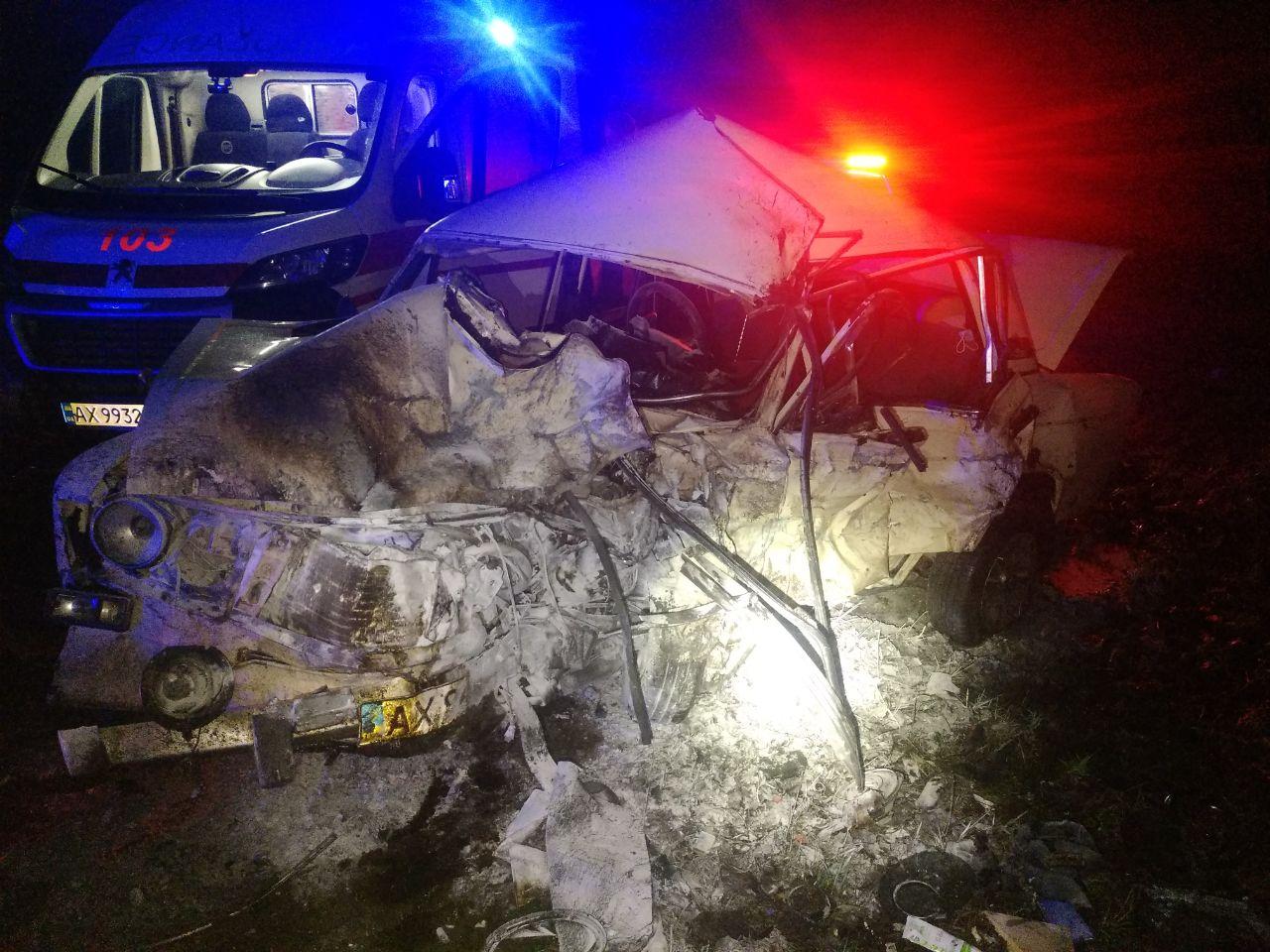ДТП на Харьковщине: один человек погиб, трое пострадали (фото)