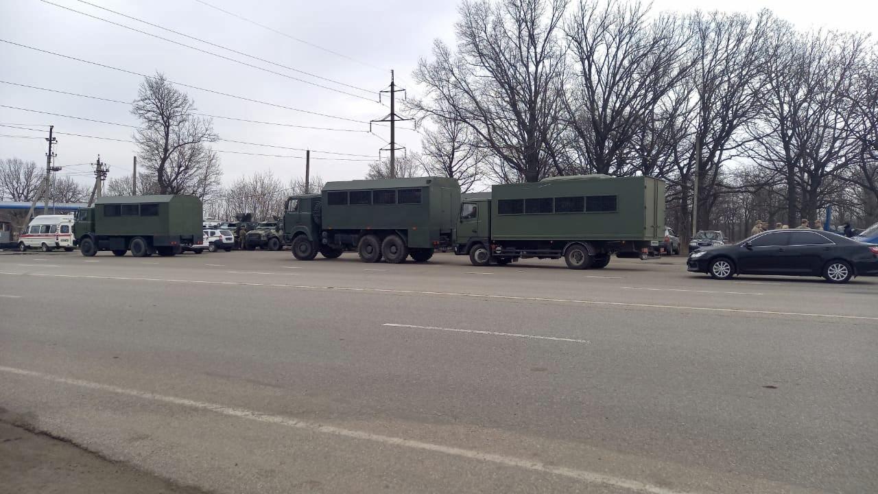Под Харьковом проходят антитеррористические учения: задействовали военную технику (фото, видео)