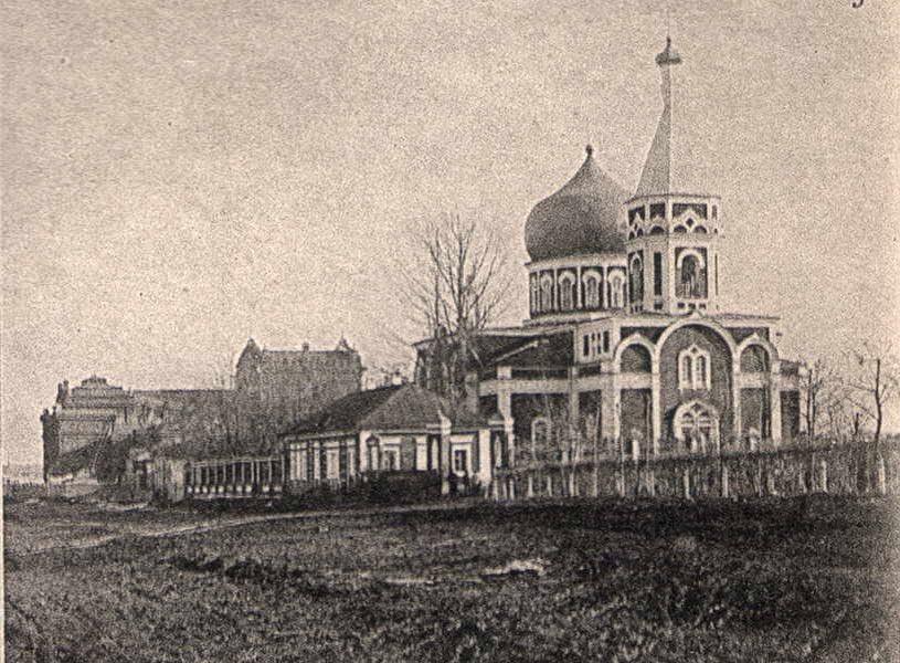 Святодуховская церковь находилась на Конной площади