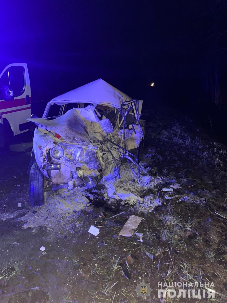 В полиции открыли уголовное производство по смертельному ДТП недалеко от Чугуева (фото)