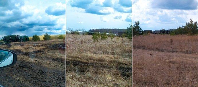 Российские войска стали лагерем недалеко от границы с Харьковской областью – расследование
