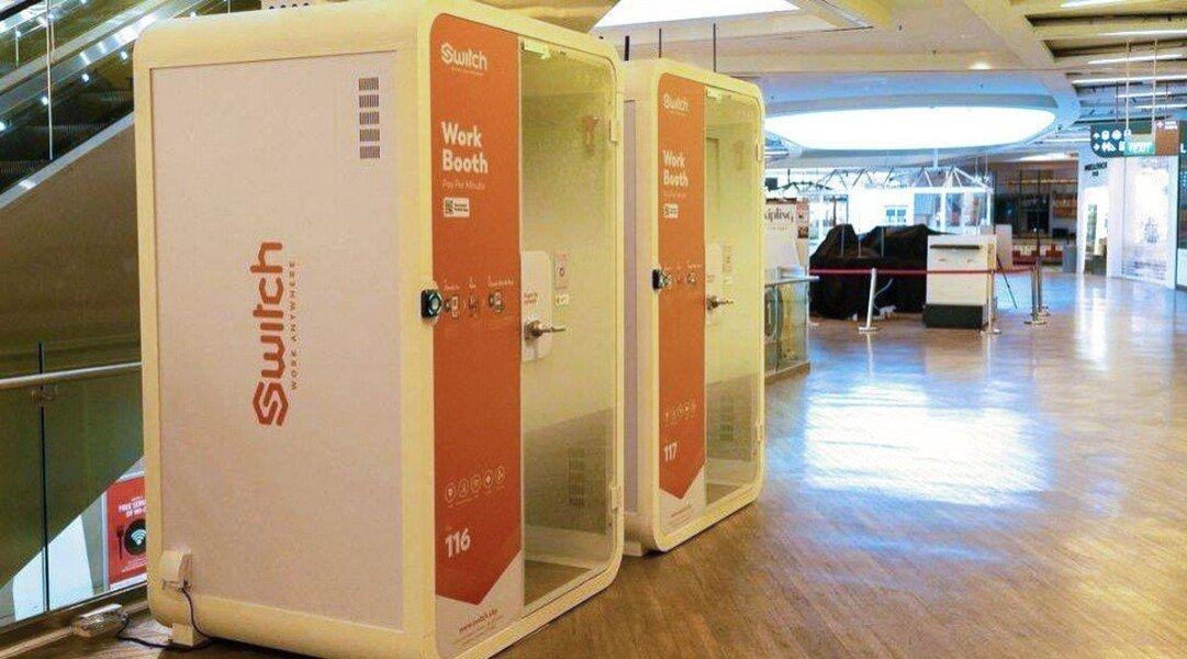 В Сингапуре придумали специальные будки для удаленной работы