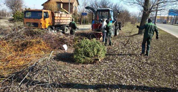 В Харькове после зимы начали приводить районы в порядок (фото)