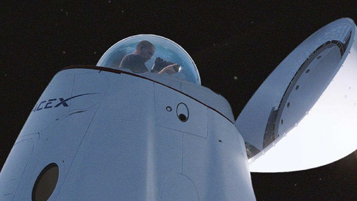 Космический корабль Crew Dragon переоборудуют для туристов