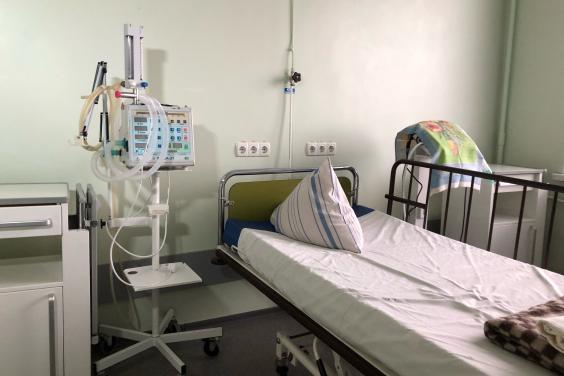 В больницах Харьковщины заполнены почти все койки со стационарным кислородом