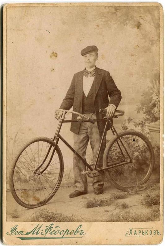 Харьковский велосипедист