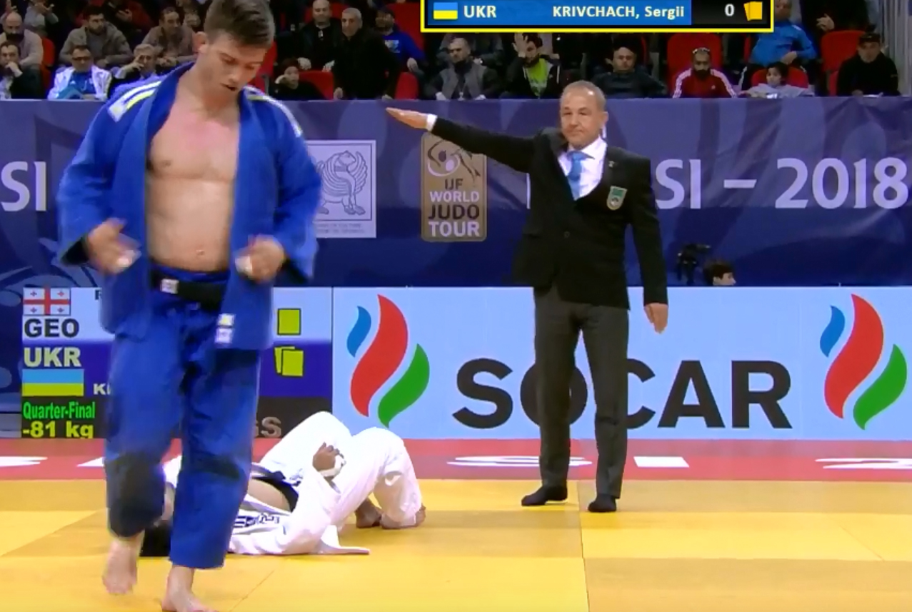 Харьковчанин выиграл Кубок Украины по дзюдо