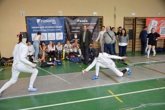В Харькове прошел международный турнир по фехтованию