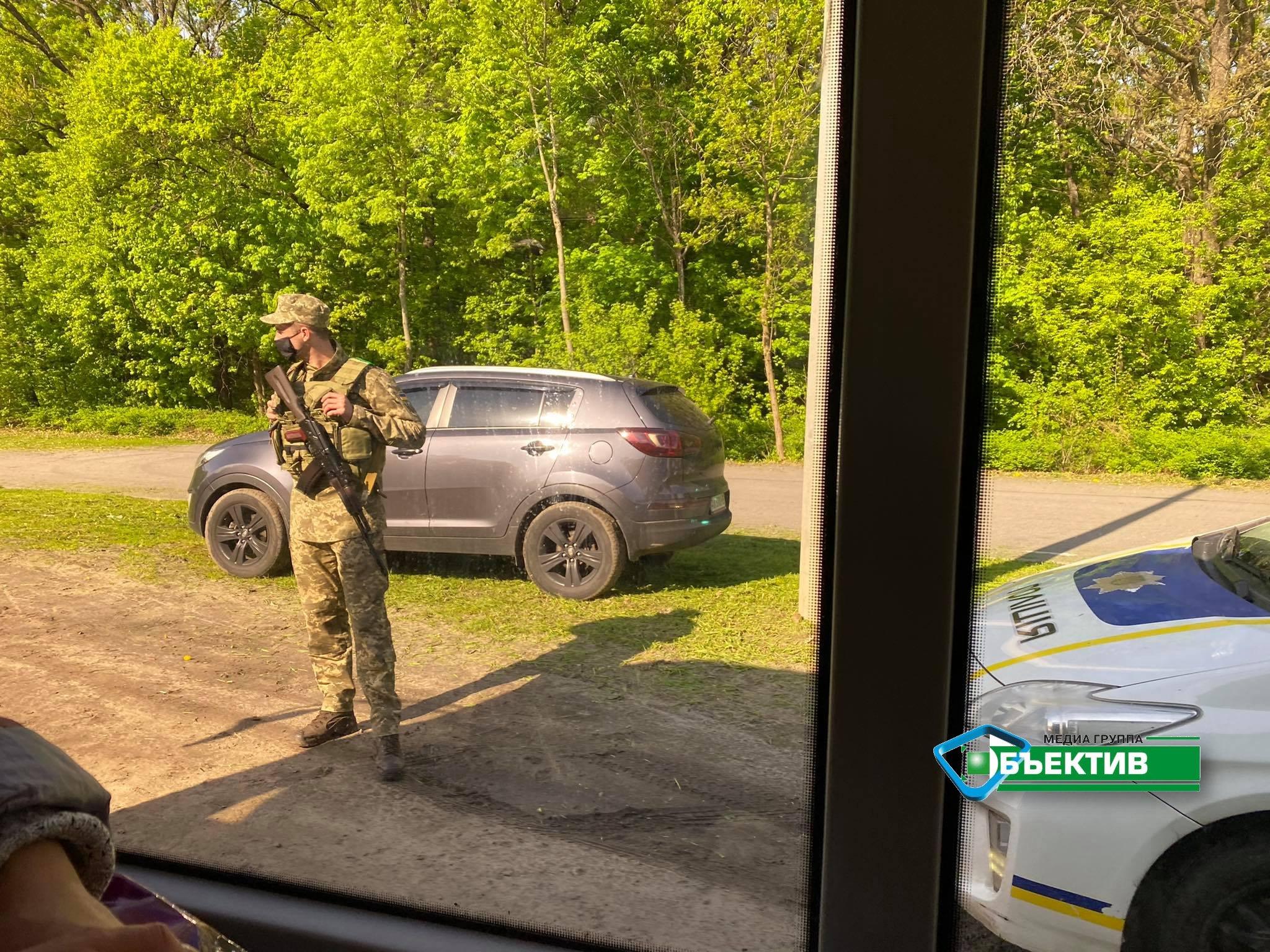 В Харькове проходят антитеррористические учения СБУ