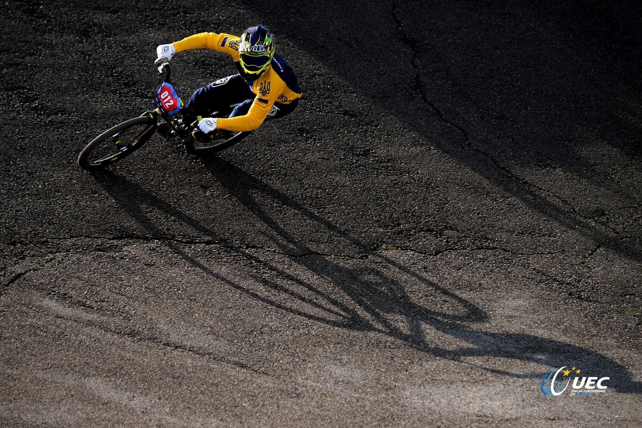 Купянчанин выиграл два этапа Кубка Европы по велоспорту BMX (фото)