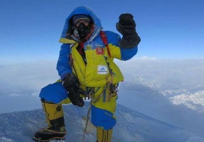 Харьковчанин установил национальный рекорд по количеству восхождений на Эверест (фото)