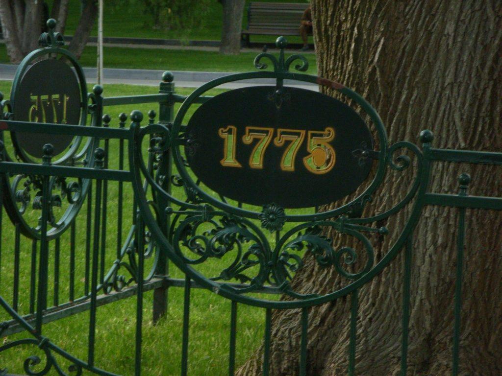 Дерево посажено в 1775 году