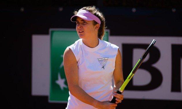 Свитолина выиграла первый матч в Риме