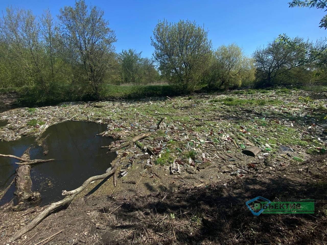 Харьковские экоактивисты планируют расчистить речку Уды (фото, видео)