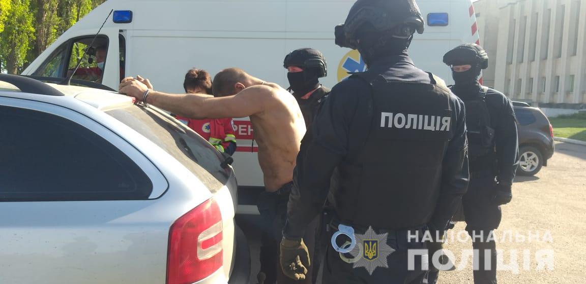 Полиция задержала на Харьковщине вымогателя (фото)