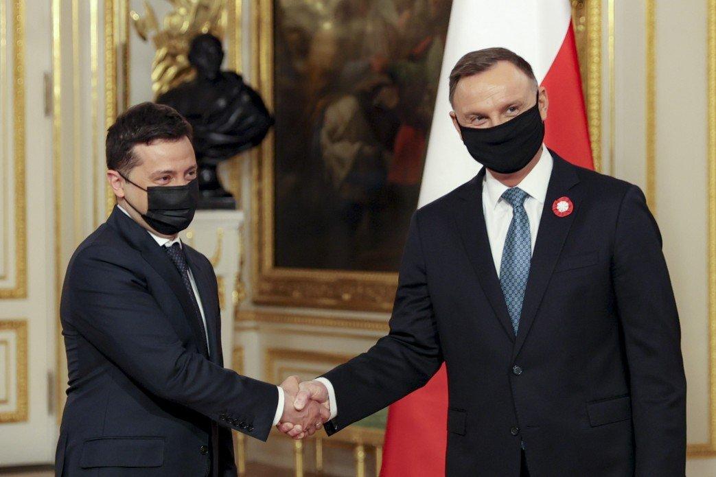 Украина и Польша подписали декларацию о европейской перспективе Украины