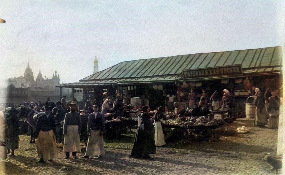 Торговцы Благовещенского базара