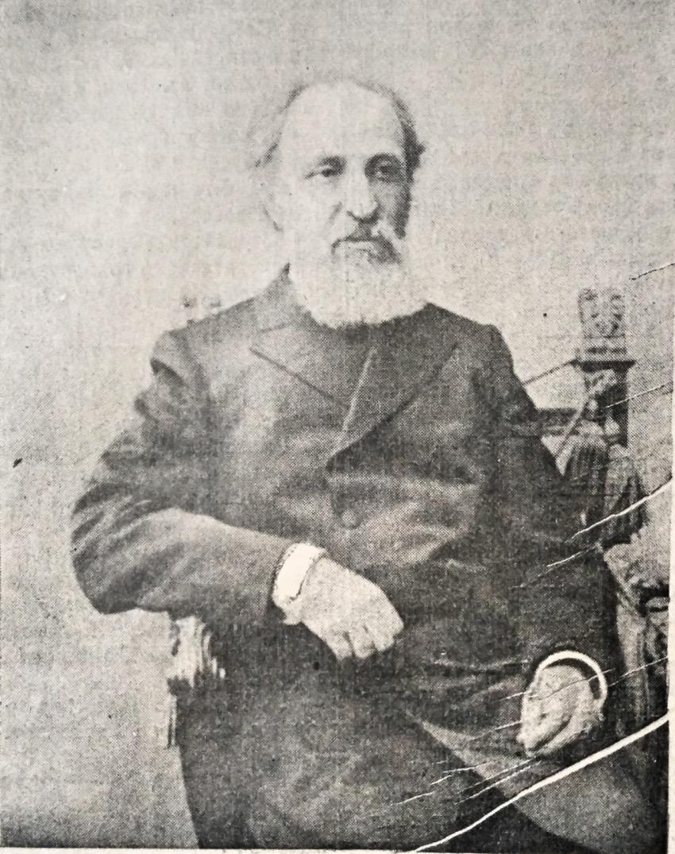 Леонард Леопольдович Гиршман (1839-1921), фото А. М. Иваницкого из газеты «Южный край»