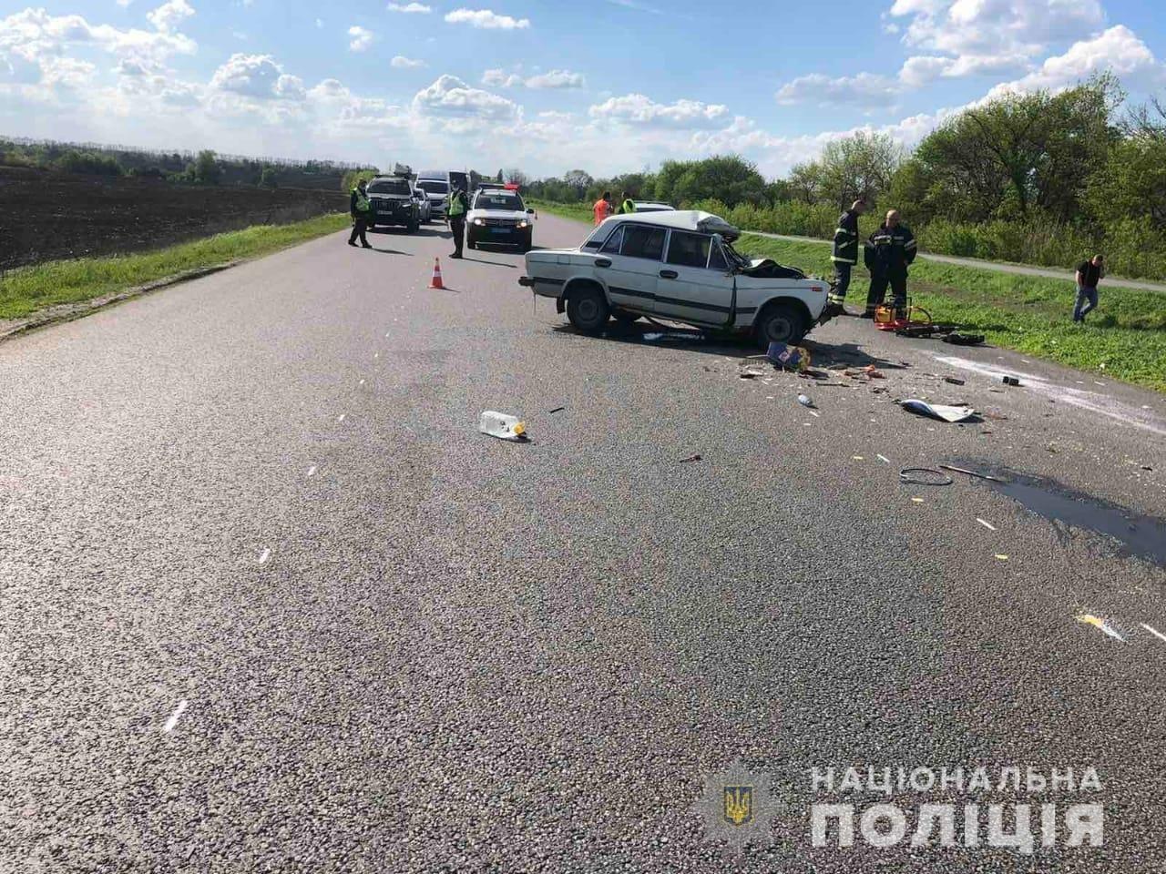 Смертельное ДТП на трассе Киев-Харьков-Довжанский: погибли двое людей (фото)