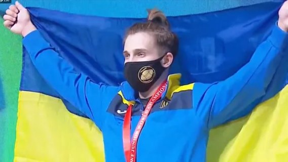Камила Конотоп выиграла чемпионат мира по тяжелой атлетике (фото)