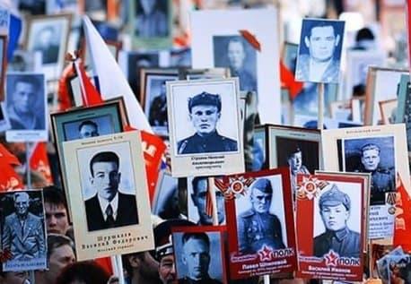 """Акция """"Бессмертный полк"""" к 9 мая неизвестна 40% украинцев"""