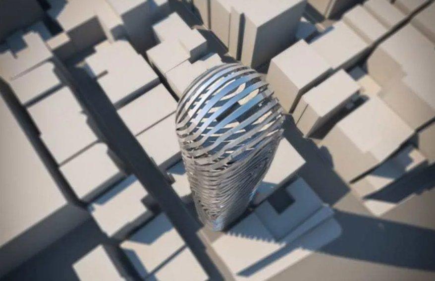 В Сеуле появится дом, прототипом которого стал отпечаток пальца (фото)