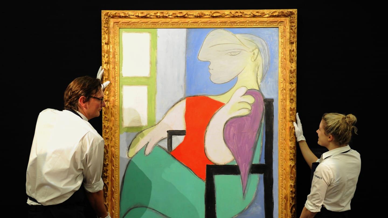 Больше 100 млн долларов выручили на аукционе за картину Пикассо (фото)