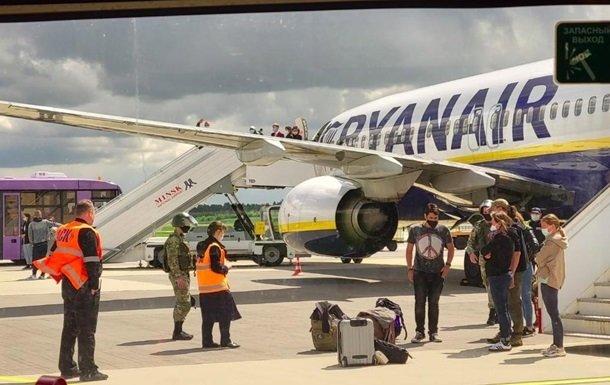 Ryanair обвиняет Беларусь в захвате своего лайнера и воздушном пиратстве