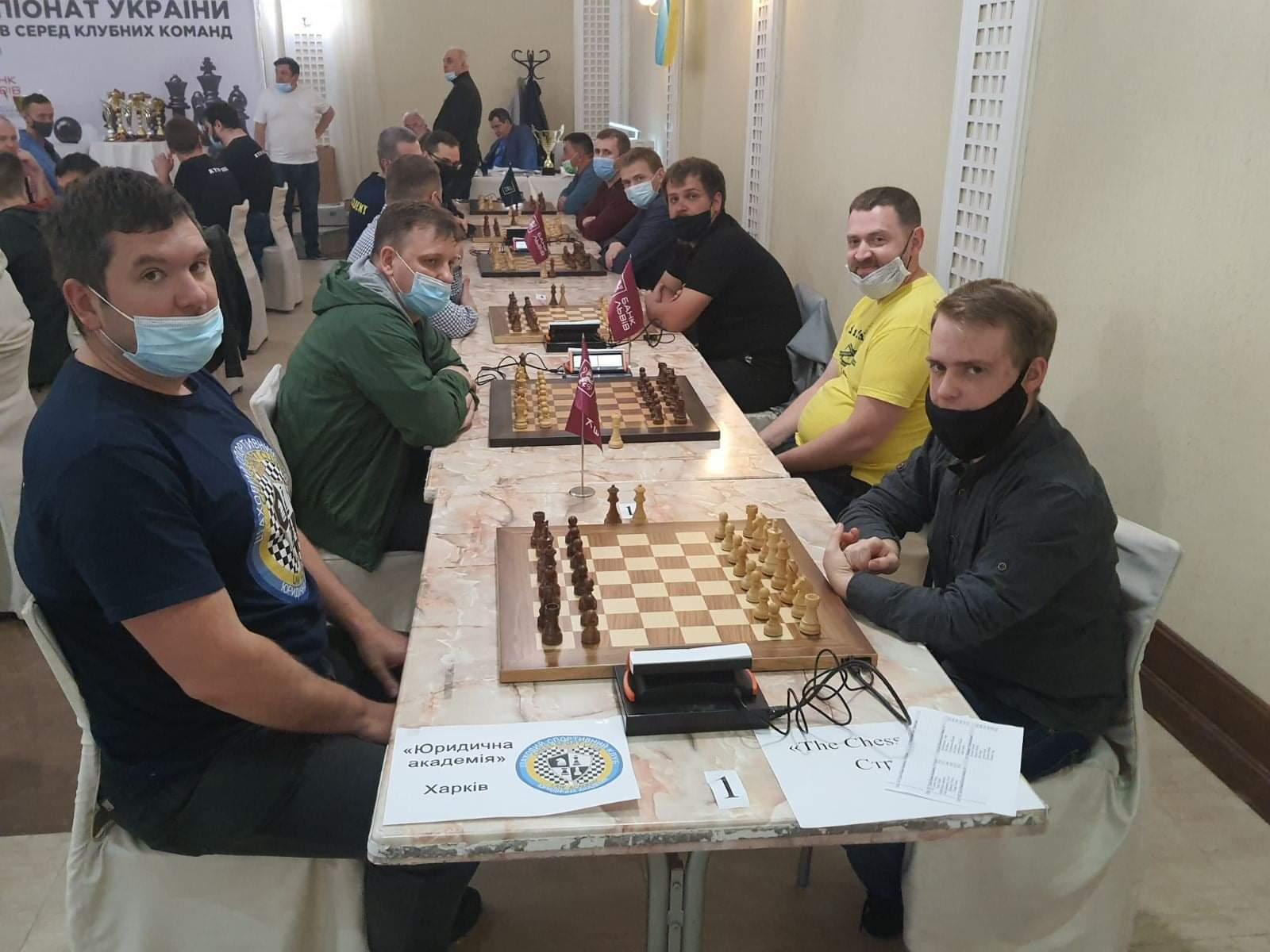 Харьковская «Юракадемия» выиграла чемпионат Украины по шахматам (фото)