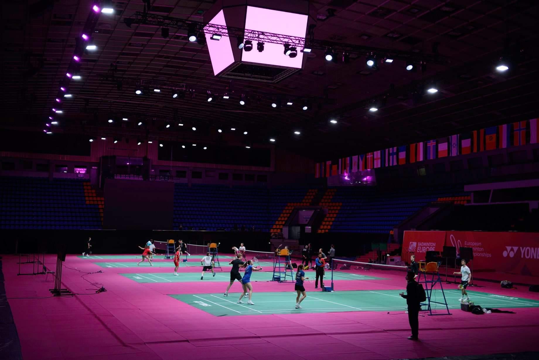 Украина впервые в истории провела чемпионат Европы по бадминтону (фото)