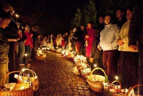 Более 740 тысяч украинцев приняли участие в пасхальных богослужениях — Нацполиция