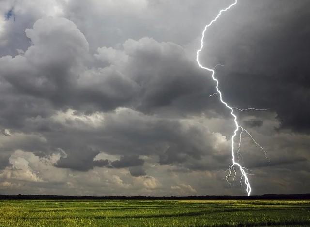 Убитого молнией на Харьковщине участкового в огороде нашла жена