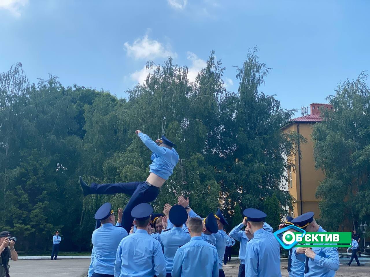 В Национальном университете гражданской защиты Украины состоялся торжественный выпуск молодых специалистов