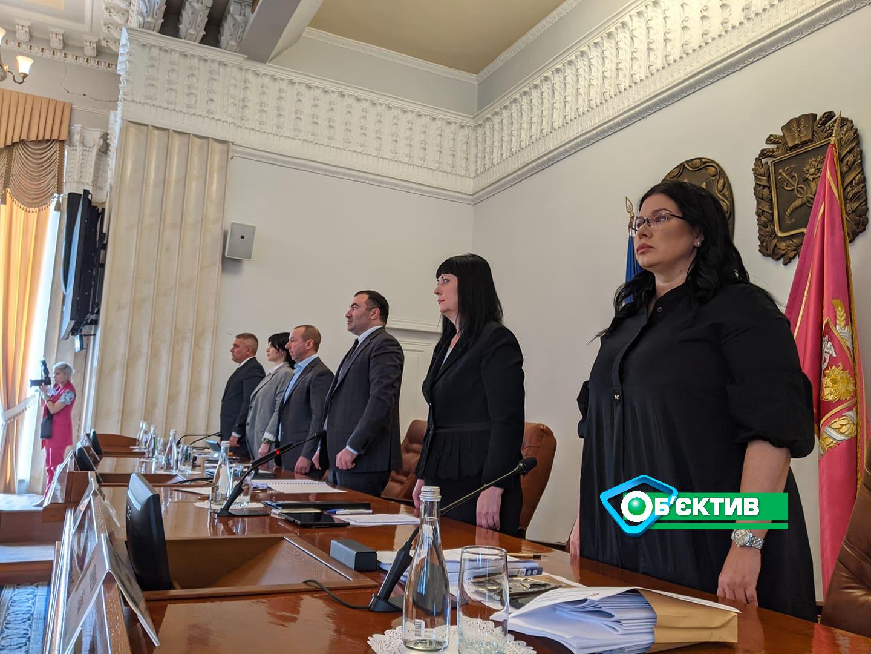 В Харькове началась сессия областного совета (фоторепортаж)