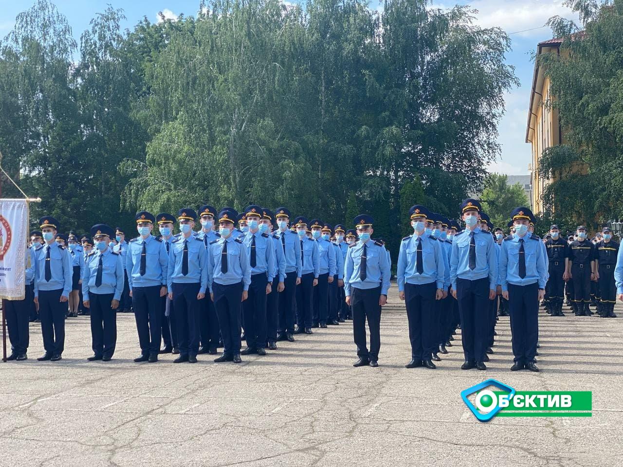 283 курсанта Национального университета гражданской защиты получили дипломы в Харькове