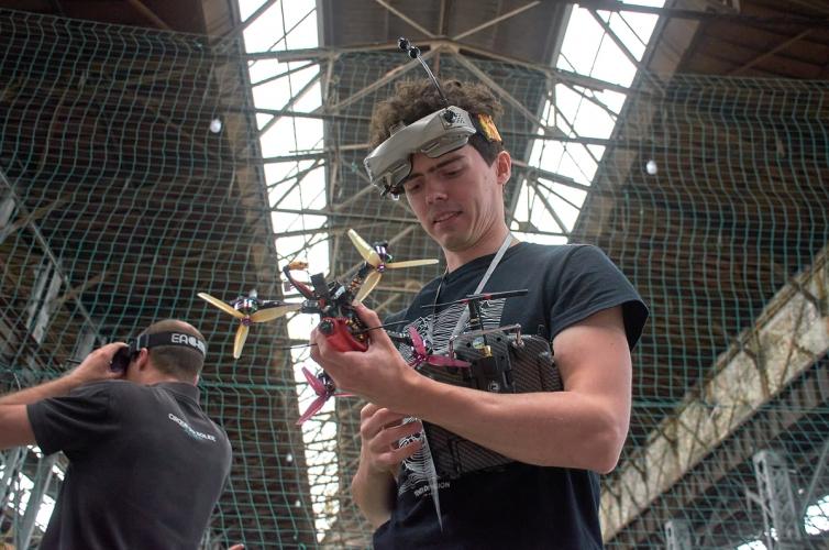 Харьковчане отличились на чемпионате Украины по дрон-рейсингу