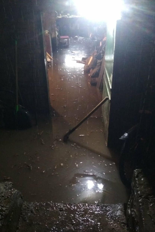 Потоп на Харьковщине: спасатели 7,5 часа выкачивали воду из частных домов (фото)