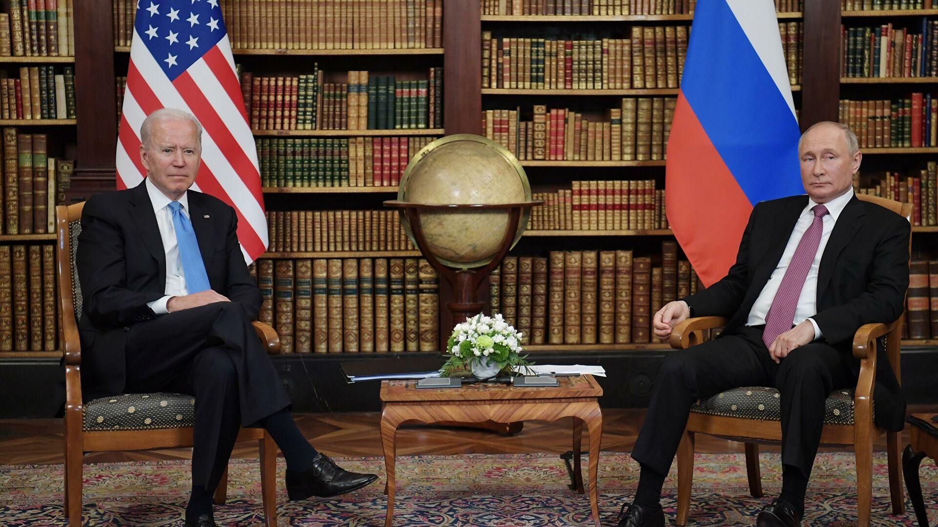 """""""Он не перечил мне"""" – Байден и Путин поделились впечатлениями от встречи"""