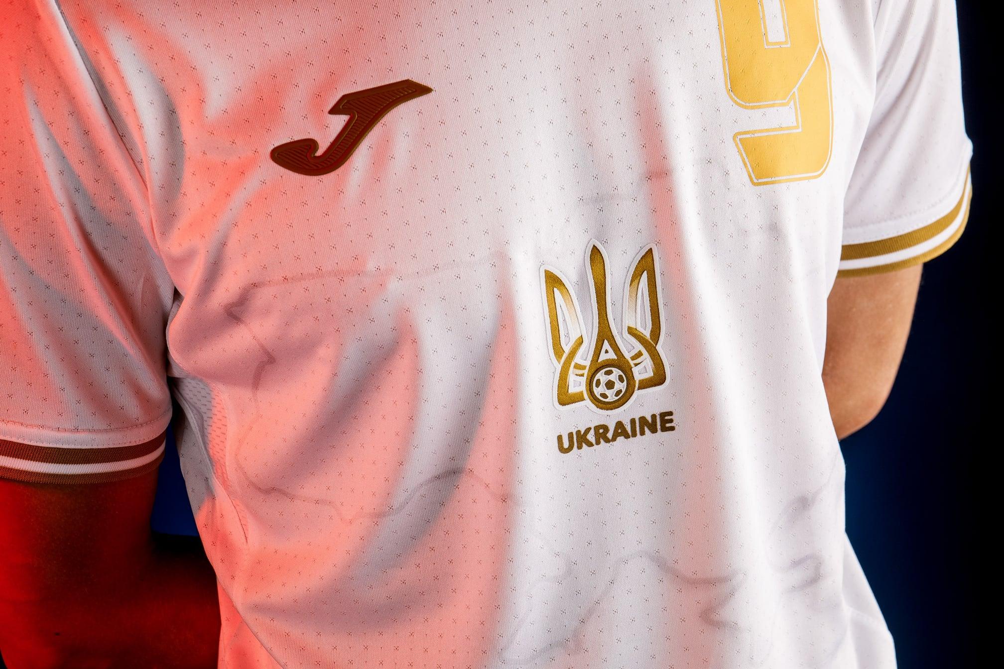 Национальная сборная Украины по футболу будет играть матчи Евро-2020 в новой форме