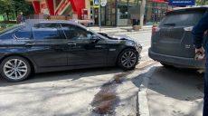 В Харькове столкнулись Toyota и BMW (фото)