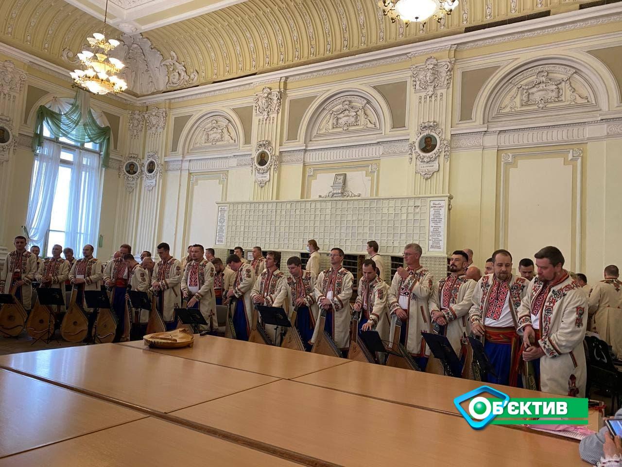 В Харькове стартовал 10 Всеукраинский конкурс бандуристов
