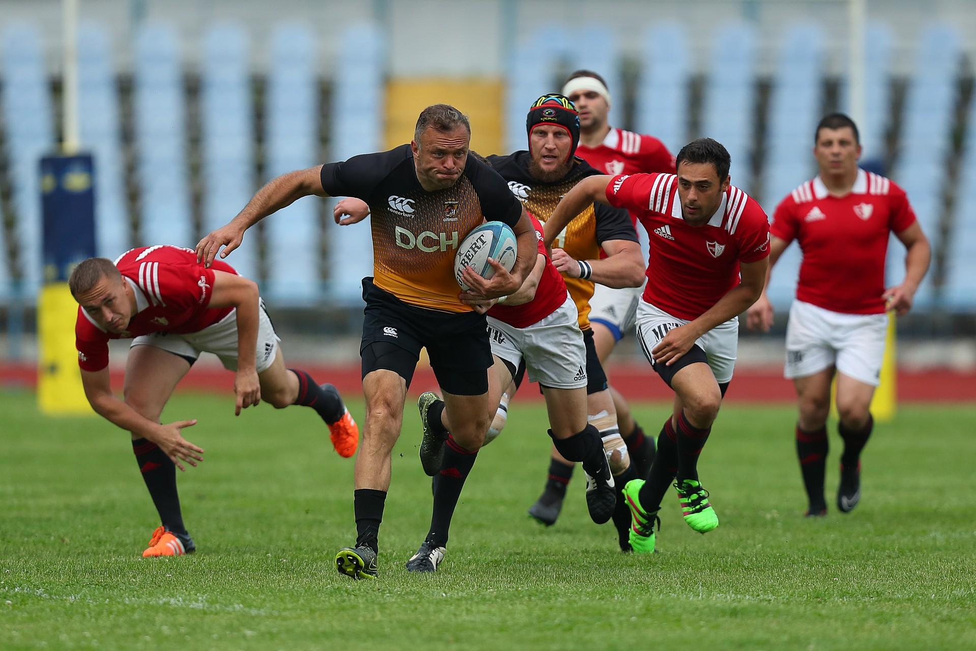В Харькове состоялся центральный матч регбийного чемпионата (фото)