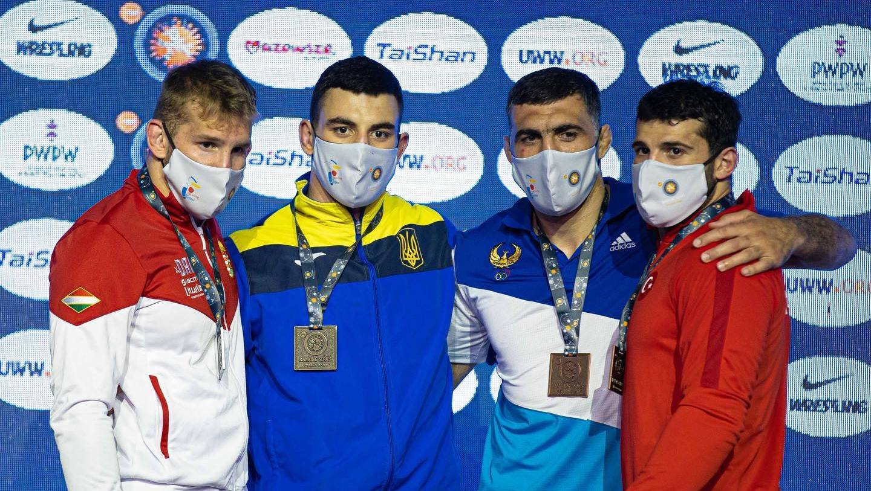 В весовой категории до 87 кг Украину и Харьковскую область представлял чемпион мира и Европы Семён Новиков
