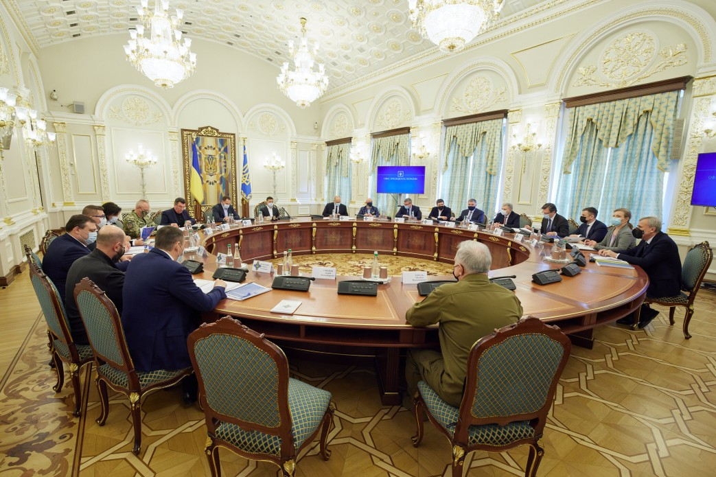 Санкции против семи сотрудников ФСБ РФ: итоги пятничного заседания СНБО