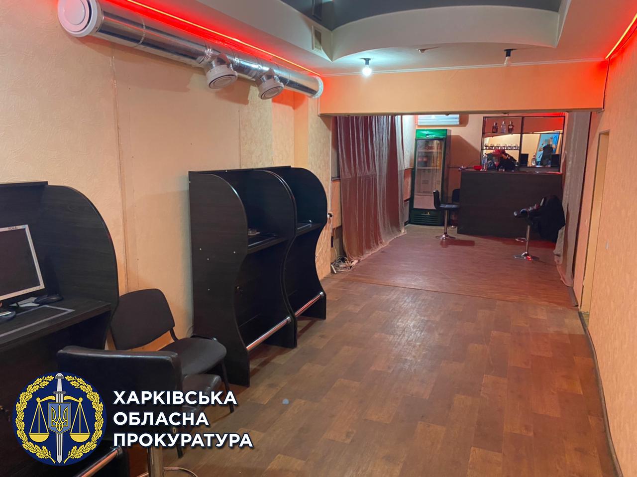 На Харьковщине нашли подпольное игорное заведение (фото)