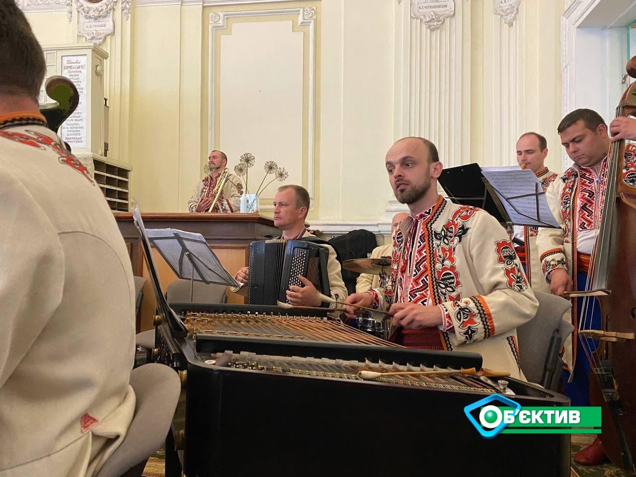 В главной научной библиотеке Харькова – конкурс бандуристов