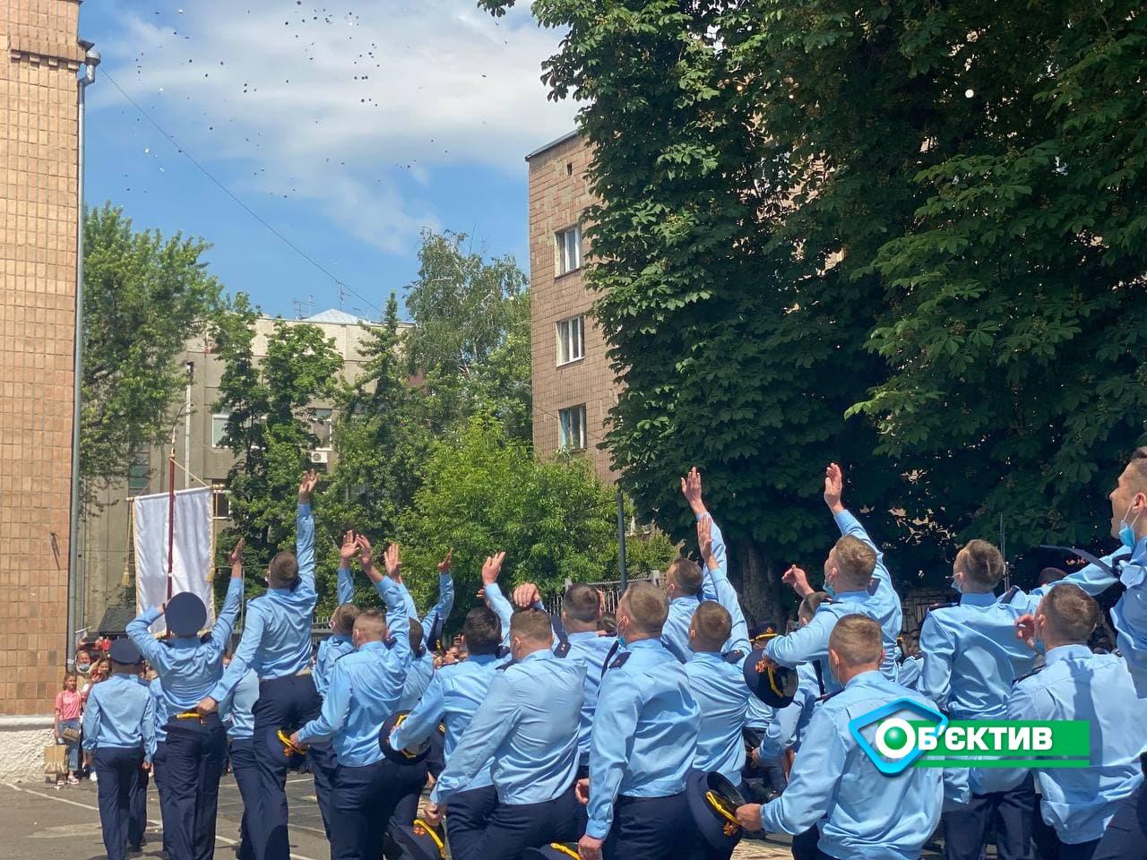 Молодые специалисты Национального университета гражданской защиты получили дипломы в Харькове