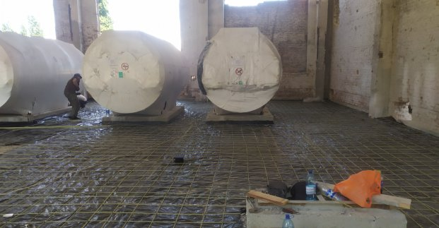 В Основянском районе реконструируют котельную