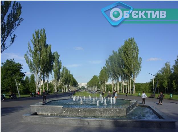 Новый фонтан на Салтовке
