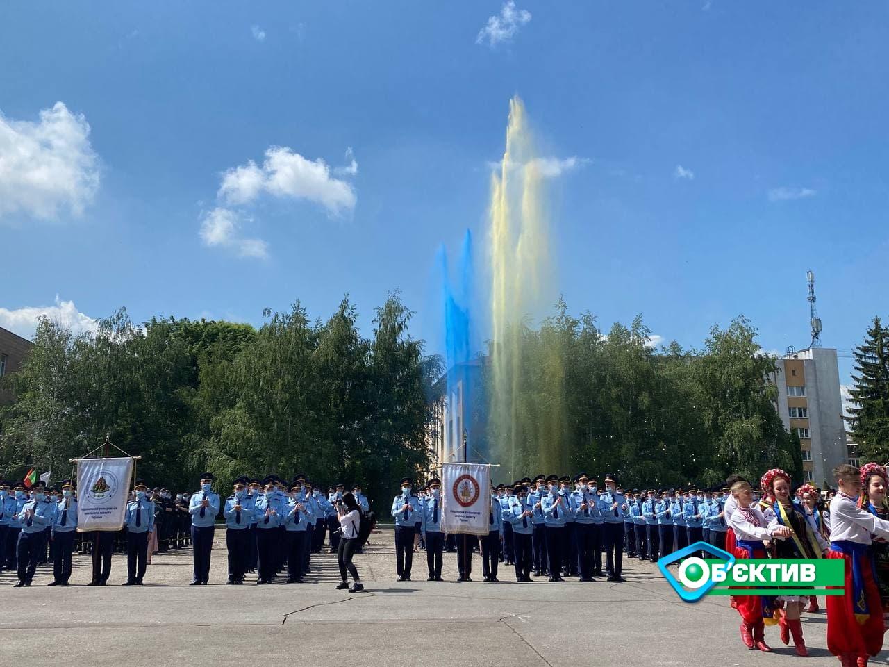 В Харькове 283 курсанта Национального университета гражданской защиты получили дипломы о высшем образовании